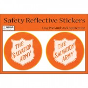 Reflective Safety Stickers Round
